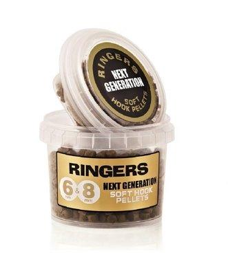 Ringers 6&8 mm soft hook pellets